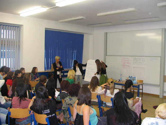 Flipcharts as always, the good AIESEC way